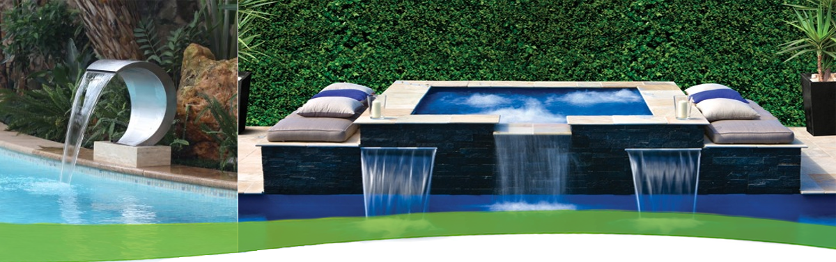 Stainless Steel Pool Fountains