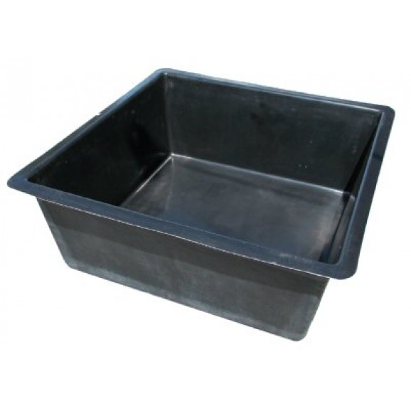 SQUARE POND - 1.5M /  MEDIUM - 900LT BLACK $375.00