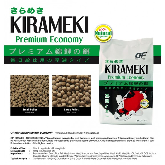 KIRAMEKI - ECONOMY 5KG 6MM