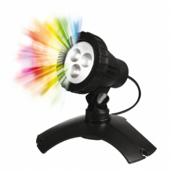 PM - 3W LED MULTI POND/GARDEN LIGHT ( NO REMOTE )