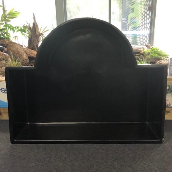 PREFORMED POND - HALF ROMAN - BLACK $630.00