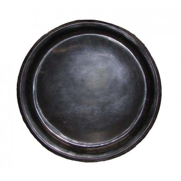ROUND POND - SMALL SHALLOW - 185LT BLACK