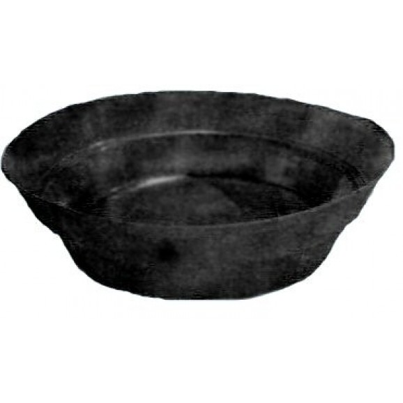ROUND POND - LARGE DEEP - 3500LT BLACK