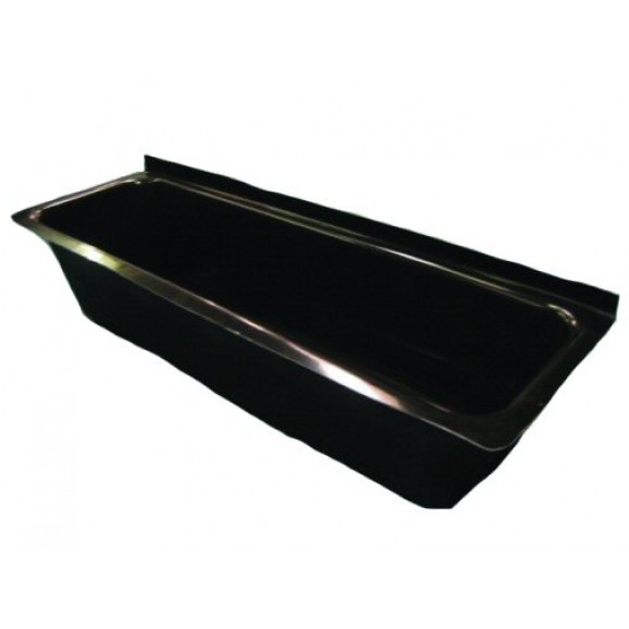WATERWALL TROUGH -  1.3M / SMALL - 180LT BLACK $229.00