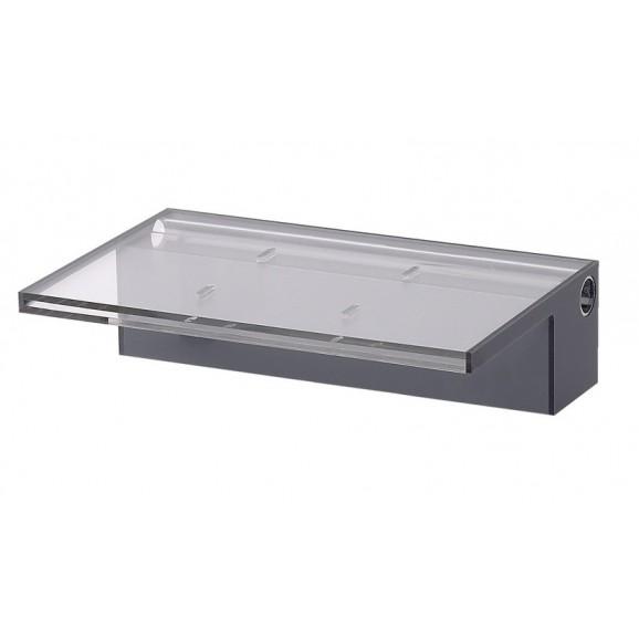 ACRYLIC 900MM WATER BLADE - 125MM LIP BOTTOM ENTRY