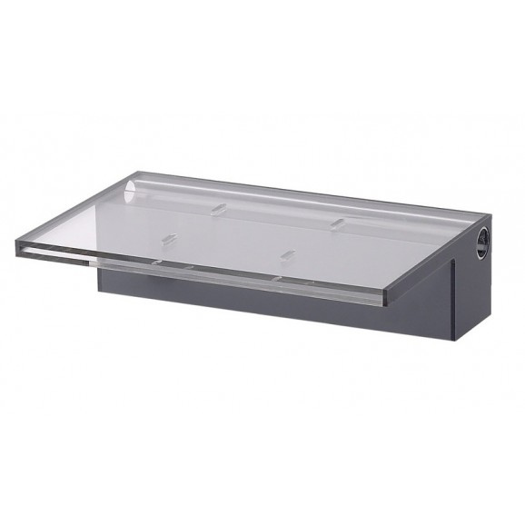 ACRYLIC 900MM WATER BLADE - 125MM LIP BACK ENTRY