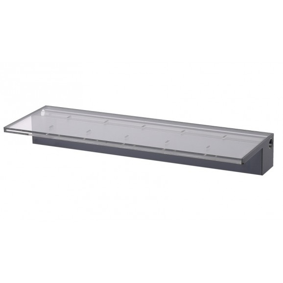 ACRYLIC 1200MM WATER BLADE - 125MM LIP BACK ENTRY